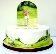 All sizes | Golf Cake | Flickr - Photo Sharing!