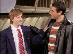 Saturday Night Live: David Spade and Adam Sandler in TBA #SNL
