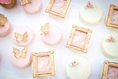 {Royal Garden} Classic Pink Princess Party birthday parti, idea karaspartyideascom, princess parti, gardens, garden parties, kid parti, kara parti, parti idea, cupcak fondant