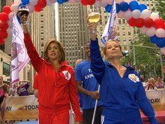 KLG and Hoda Olympic Spirit!