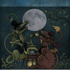 Tea Dragon moon by CopperAge on deviantART
