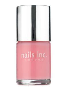 This week's manicure: Nails Inc. in South Molton Street, my first bottle of this brand. It went on very smoothly and wasn't streaky at all, which is frequently a problem with sheer pale pinks. If it wears well, I'll be getting more.