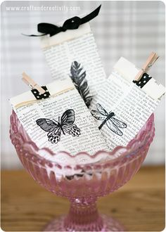 Turn old books into