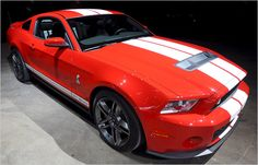The 2013 Shelby Mustang GT500
