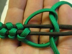 Scouting knot bracelet