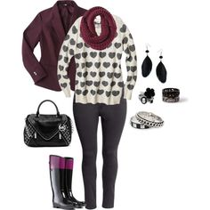 """""""plus size winter love"""" by kristie-payne on Polyvore"""
