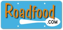 Roadfood Logo. Lots of great recipes