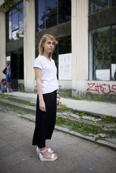 On the street in Warsaw. [Photo by Kuba Dabrowski]