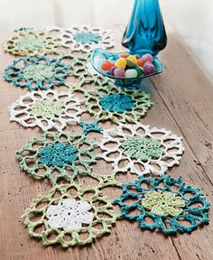 Blue Moon Table Runner
