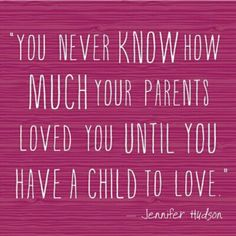 So true! One of the best things I've learned as a mom. New found respect for my parents!