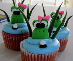 Girly Frogs