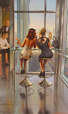 Contemporary Artists - Stanislav Plutenko Russian Painter