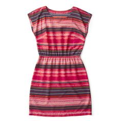 Easiest fashion statement ever – this global print dress.