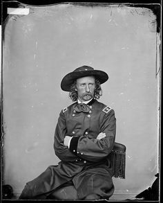 Gen. George A. Custer by The U.S. National Archives