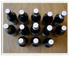 Inchmark's bottle cap labels