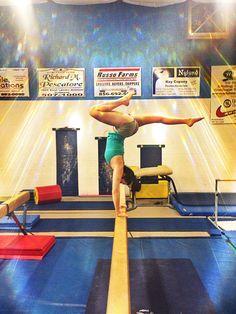 Gymnastics oh how i love it