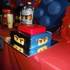 ninjago rise, easiest cake, birthday parti, lego ninjago, birthdays, cs birthday, legos, party cakes, ninjago parti