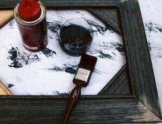 DIY picture frames...