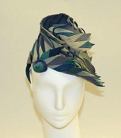 Hat | American, 1941 | Material: wool | The Metropolitan Museum of Art, New York