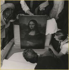 Mona Lisa returned to The Louvre after end of World War II.