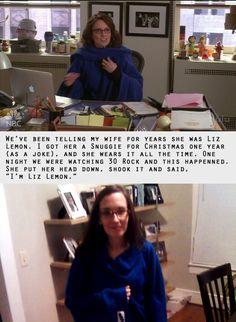 @deadaesthetic: I married Liz Lemon #30Rockelganger