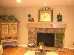 Frugal Fireplace Facelift