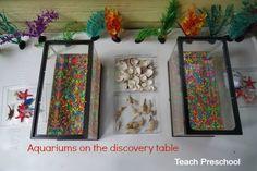 june preschool, letter, aquariums, ocean themes, teaching blogs