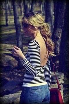 Striped Low Back.