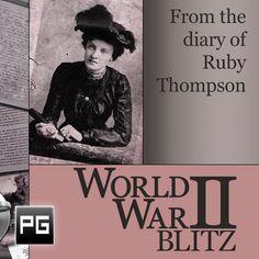 World War II London Blitz Diary