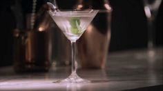 A vintage cocktail that has come back into fashion, the Wet Martini, is a perfect bitter, herbal GREY GOOSE drink for any occasion.