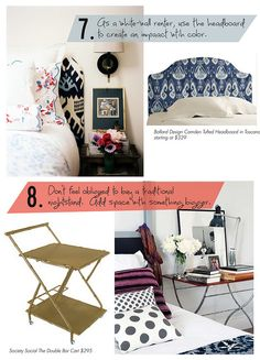 bedroom styling tips