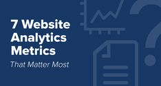 7 Website Analytics