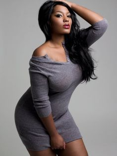 sexi, sweater dresses, curvy girls, curvy women, thick women, grey dresses, beauti thick