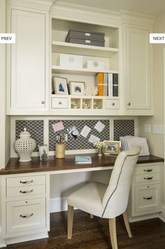 kitchens, kitchen desks, desk space, home office spaces, kitchen office, offic space, nook, desk areas, home offices