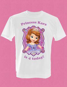 Childrens Princess Sofia the First Birthday by Djinvitations, $12.00