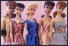 Ponytail Barbies by RomitaGirl67 via flickr.