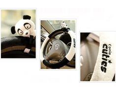 Panda Steering Wheel Cover