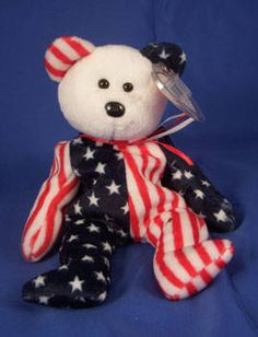 Ty Beanie babies Stars & Stripes bear