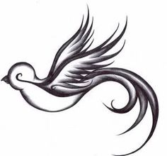 ~Swallow Tattoo like the flow but would want a normal eye