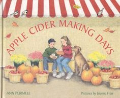 books, activities for kids, appl cidermak, apple cider, kid book