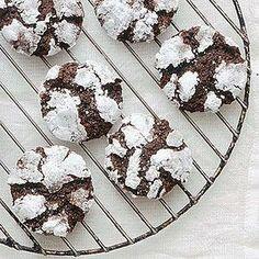 Dark-Chocolate-Ginger Crinkles