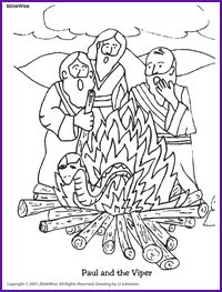 Paul Shipwrecked Colouring PagesShipwreck Coloring Page