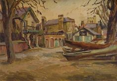 Boats at Twickenham, 1926 - Duncan Grant
