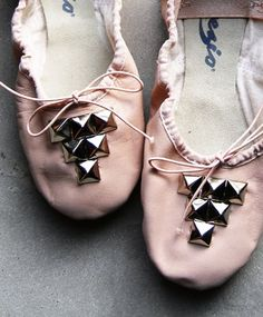 studded ballerina - dancing with an edge