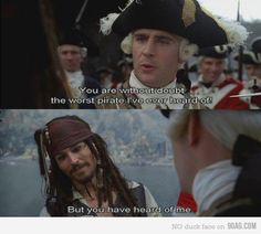 :D i love [captain] jack sparrow :D  @Emily Tucker I identifie with this man more than is healthy