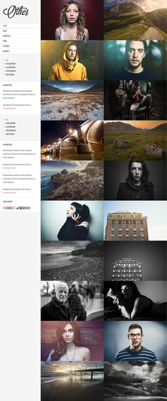 Other – Photography WordPress Theme