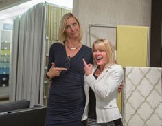 I take my job seriously, but I don't take myself seriously.  Having a bit of fun at the Kravet event in Chicago. #candiceolson