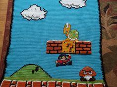 Super Mario Afghan - Imgur