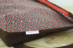 Retro fold over bag