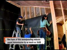 Watch this quick video to see just how easy it is to install Acoustiblok Soundproofing Material